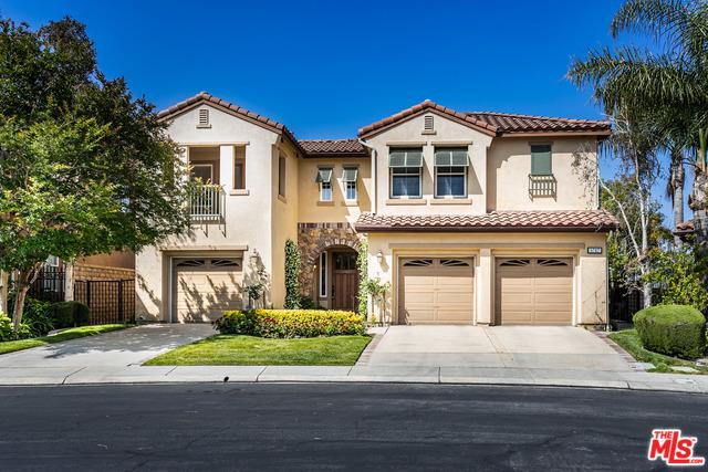 5717 Indian Pointe Drive, Simi Valley, CA 93063 (MLS #19475506) :: The John Jay Group - Bennion Deville Homes