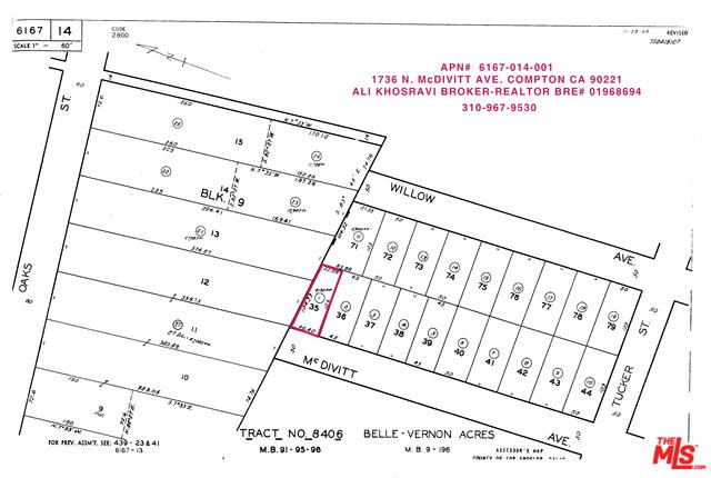 1736 N Mcdivitt Avenue, Compton, CA 90221 (MLS #19477098) :: The John Jay Group - Bennion Deville Homes