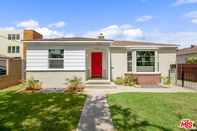 4016 Wasatch Avenue, Culver City, CA 90066 (MLS #19477432) :: The John Jay Group - Bennion Deville Homes