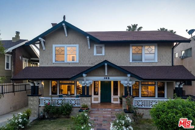 143 N Manhattan Place, Los Angeles (City), CA 90004 (MLS #19478314) :: Desert Area Homes For Sale