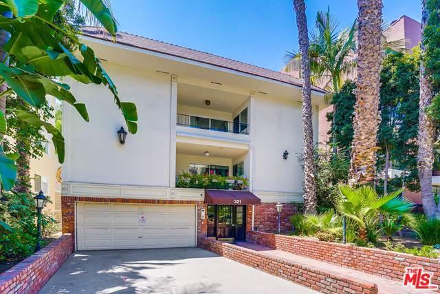 321 N Palm Drive #5, Beverly Hills, CA 90210 (MLS #19488072) :: Hacienda Group Inc