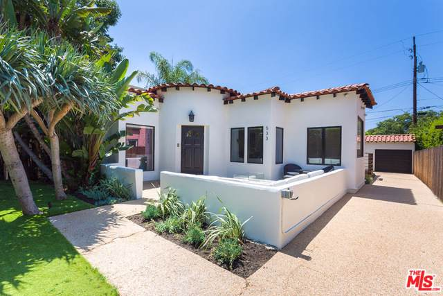 533 N Sweetzer Avenue, West Hollywood, CA 90048 (MLS #19500470) :: The John Jay Group - Bennion Deville Homes