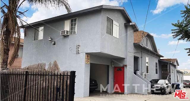 2014 Michigan Avenue, Los Angeles (City), CA 90033 (MLS #19501368) :: The John Jay Group - Bennion Deville Homes