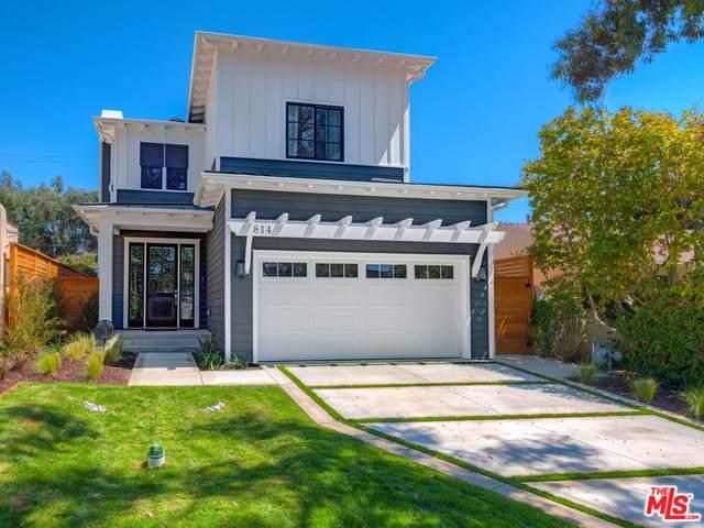 814 Hartzell Street, Pacific Palisades, CA 90272 (MLS #19507074) :: The John Jay Group - Bennion Deville Homes