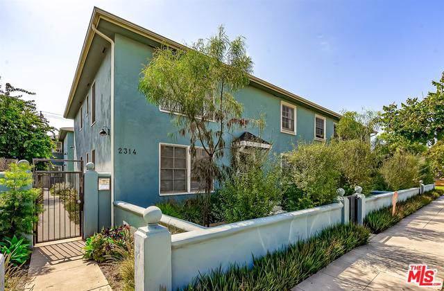 2314 28th Street #2, Santa Monica, CA 90405 (MLS #19510300) :: The John Jay Group - Bennion Deville Homes