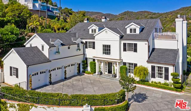 1304 Marinette Road, Pacific Palisades, CA 90272 (MLS #19510322) :: The John Jay Group - Bennion Deville Homes