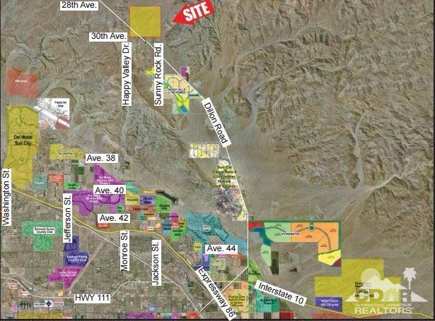 0 Dillon Road, Indio, CA 92201 (MLS #217008218) :: The Jelmberg Team
