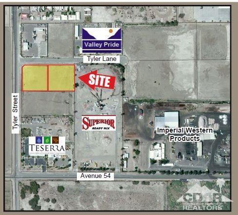 0 Sec Tyler Street, Coachella, CA 92236 (MLS #217017178) :: Team Michael Keller Williams Realty