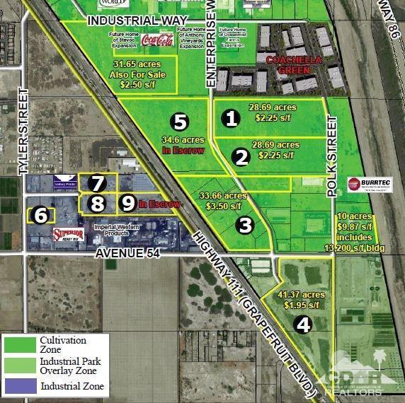 0 Avenue 54, Coachella, CA 92236 (MLS #218007784) :: Brad Schmett Real Estate Group