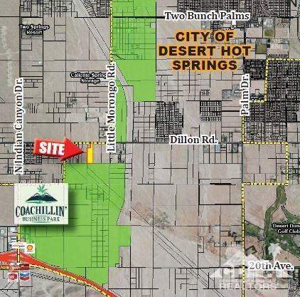 0 S Dillon Road, Desert Hot Springs, CA 92241 (MLS #218032578) :: Brad Schmett Real Estate Group