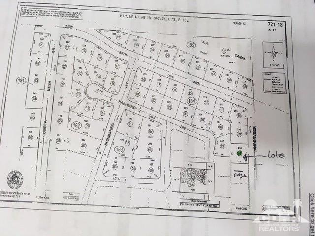 0 Vander Veer Dr, Mecca, CA 92254 (MLS #218034634) :: The John Jay Group - Bennion Deville Homes