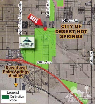 0 W Little Morongo Rd Road, Desert Hot Springs, CA 92240 (MLS #219019609) :: The Jelmberg Team