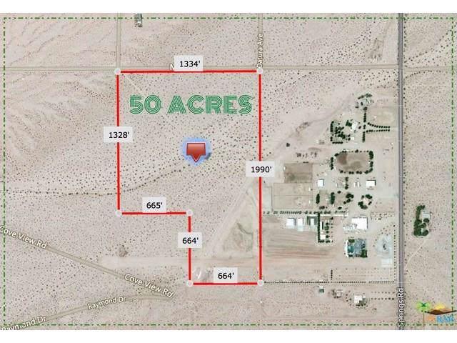 72659 Mesa Drive, 29 Palms, CA 92277 (MLS #219033966) :: Hacienda Agency Inc