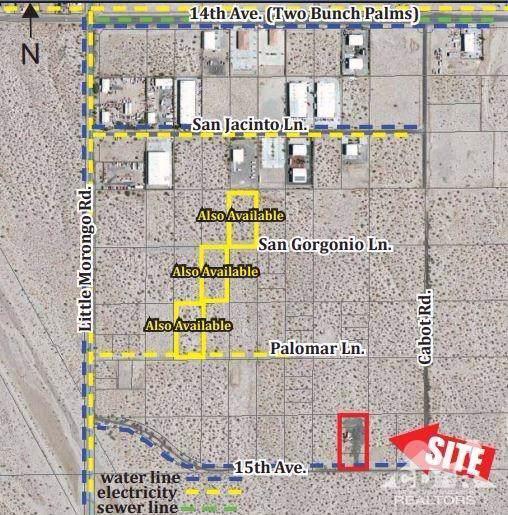 0 N 15th Ave, Cabot Rd, Desert Hot Springs, CA 92240 (#219034075) :: The Pratt Group