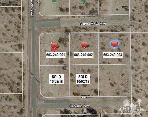 0 3 Lots Little Morongo, Desert Hot Springs, CA 92241 (MLS #219034981) :: The John Jay Group - Bennion Deville Homes