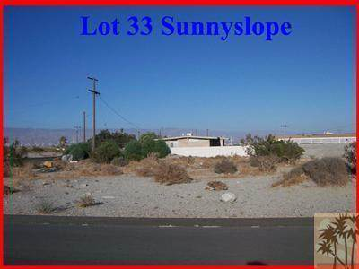 Lot 33 Sunnyslope Lane, Palm Springs, CA 92262 (MLS #219049287) :: Mark Wise | Bennion Deville Homes