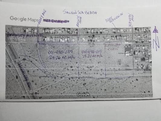 0 Raw Land (13.20 Acres M/L), Salton Sea Beach, CA 92274 (#219057975) :: The Pratt Group