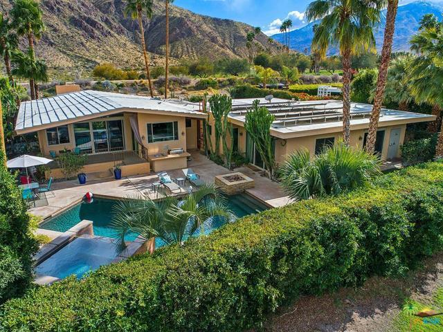 1680 E Murray Canyon Drive, Palm Springs, CA 92264 (MLS #18317414PS) :: Team Wasserman