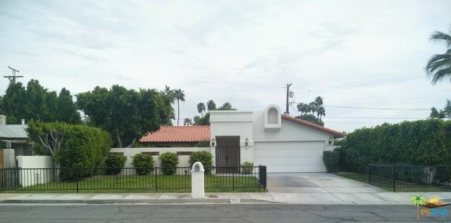 654 N Calle Marcus, Palm Springs, CA 92262 (MLS #18320730PS) :: The John Jay Group - Bennion Deville Homes