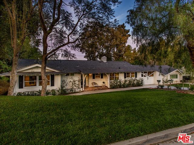 5808 Hilltop Road, Hidden Hills, CA 91302 (MLS #18330726) :: The John Jay Group - Bennion Deville Homes