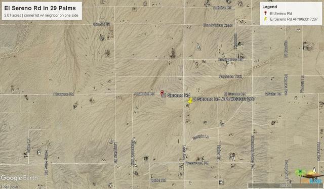 0 El Sereno Road, 29 Palms, CA 92277 (MLS #18338452PS) :: Deirdre Coit and Associates