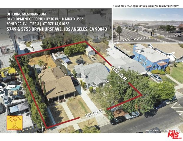 5749 Brynhurst Avenue, Los Angeles (City), CA 90043 (MLS #18392302) :: Hacienda Group Inc