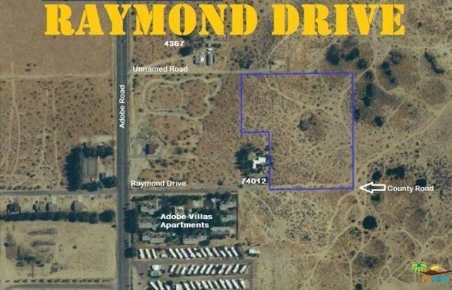 74100 Raymond Drive, 29 Palms, CA 92277 (MLS #18397398PS) :: The John Jay Group - Bennion Deville Homes