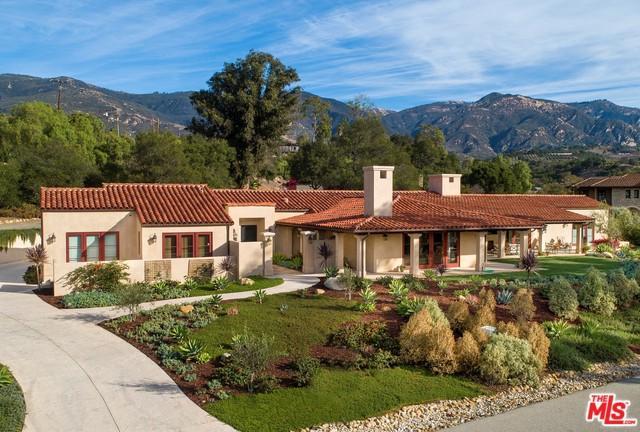 1230 San Antonio Creek Road, Santa Barbara, CA 93111 (MLS #18407944) :: The Jelmberg Team