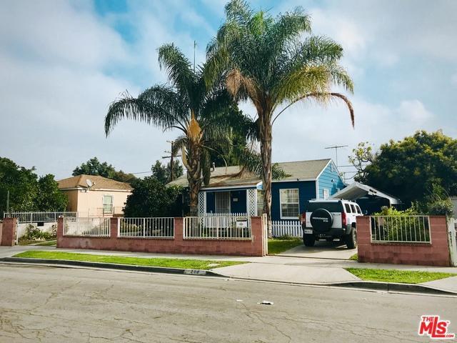 208 S Thorson Avenue, Compton, CA 90221 (MLS #18409972) :: The Sandi Phillips Team