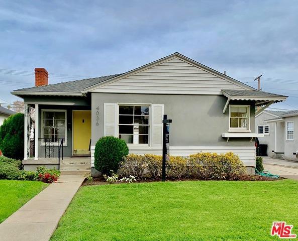 4036 Tilden Avenue, Culver City, CA 90232 (MLS #19422032) :: The John Jay Group - Bennion Deville Homes