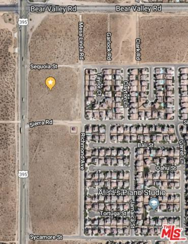 0 Hwy 395, Victorville, CA 92392 (MLS #19443726) :: Hacienda Group Inc