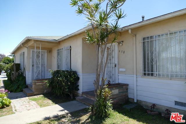654 W 99th Street, Los Angeles (City), CA 90044 (MLS #19469492) :: The John Jay Group - Bennion Deville Homes