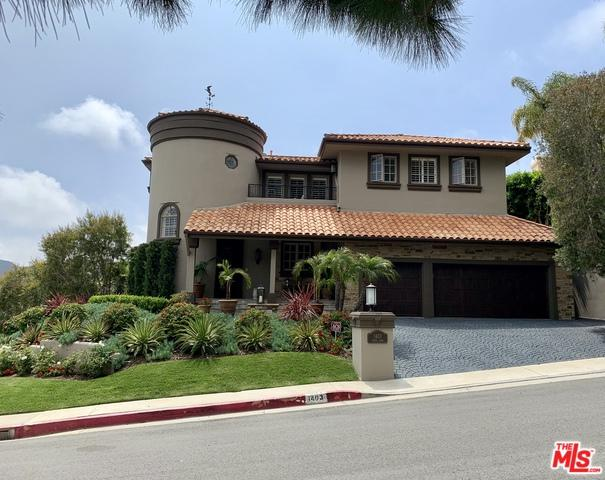 1403 Cuesta Linda, Pacific Palisades, CA 90272 (MLS #19480540) :: The John Jay Group - Bennion Deville Homes