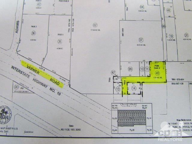 0 Varner Road, Indio, CA 92203 (MLS #218014726) :: Brad Schmett Real Estate Group