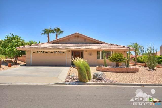 64838 Pinehurst Circle, Desert Hot Springs, CA 92240 (MLS #219024539) :: The John Jay Group - Bennion Deville Homes