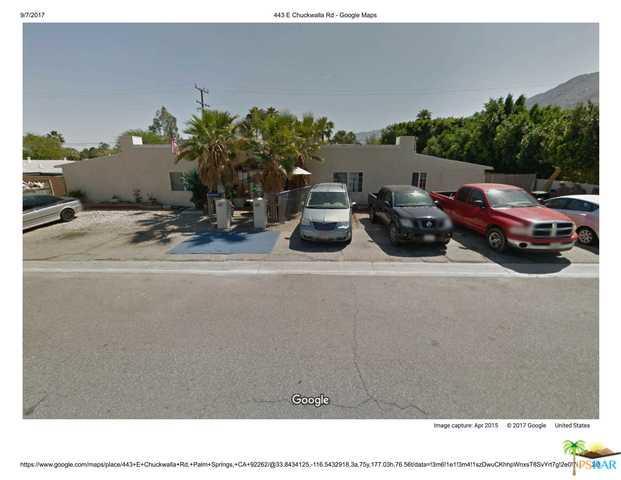 443 E Chuckwalla Road, Palm Springs, CA 92262 (MLS #17264652PS) :: Brad Schmett Real Estate Group