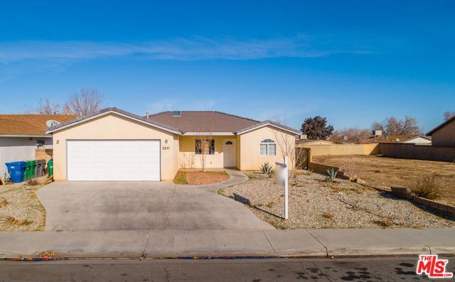2251 Morningside Avenue, Lancaster, CA 93535 (MLS #18416324) :: The John Jay Group - Bennion Deville Homes