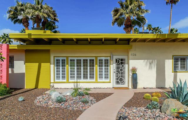 1126 N Riverside Drive, Palm Springs, CA 92264 (MLS #19435326PS) :: Brad Schmett Real Estate Group