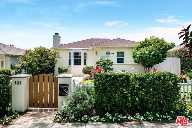 820 Yale Street, Santa Monica, CA 90403 (MLS #19478118) :: Desert Area Homes For Sale
