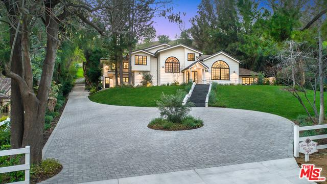5403 Jed Smith Road, Hidden Hills, CA 91302 (MLS #19431126) :: The John Jay Group - Bennion Deville Homes
