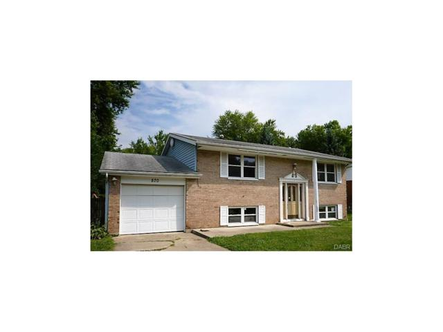 870 Murray Hill Drive, Xenia, OH 45385 (MLS #745149) :: The Gene Group