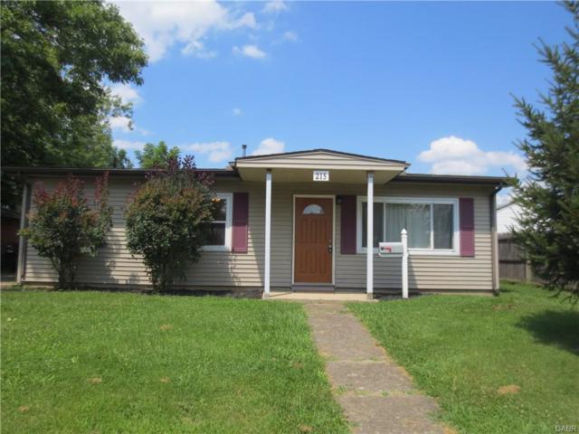 215 Drake Avenue, New Carlisle, OH 45344 (MLS #745157) :: The Gene Group
