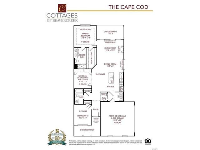 4438 Cottage Park Drive, Beavercreek, OH 45430 (MLS #754551) :: The Gene Group