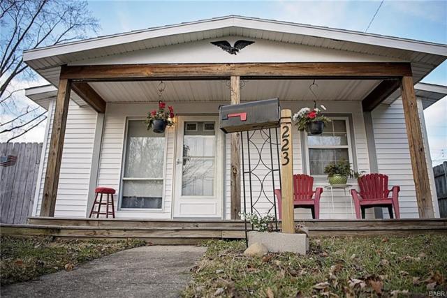 223 Prentice Drive, New Carlisle, OH 45344 (MLS #757114) :: The Gene Group