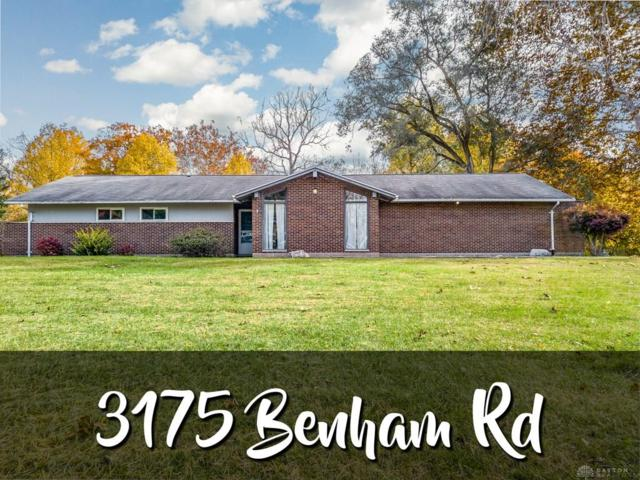 3175 Benham Road, Tipp City, OH 45371 (MLS #779154) :: The Gene Group