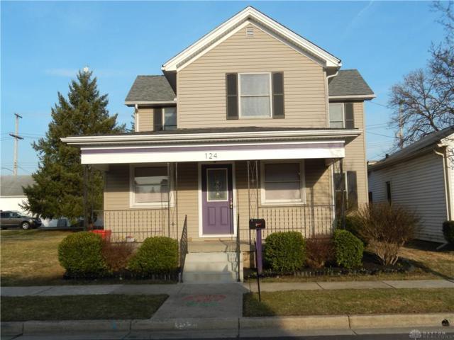 124 2nd Street, Tipp City, OH 45371 (MLS #786287) :: The Gene Group