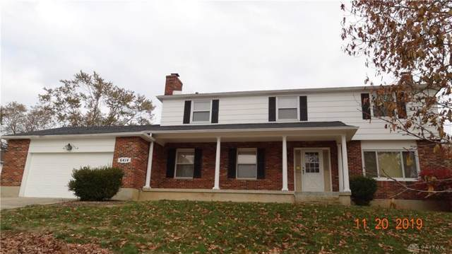 6414 Freeport Drive, Clayton, OH 45415 (MLS #806512) :: The Gene Group