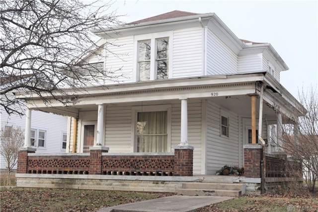 920 W Greene Street, Piqua, OH 45356 (MLS #809152) :: Denise Swick and Company