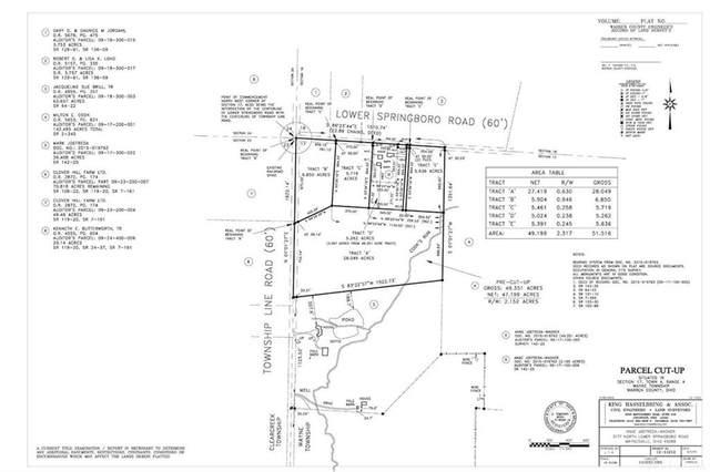 Lot B Lower Springboro Road, Waynesville, OH 45068 (MLS #811583) :: Ryan Riddell  Group