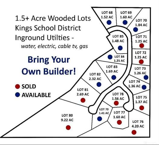 Lot 84 Arapaho Drive, Union Twp, OH 45152 (MLS #821109) :: The Westheimer Group
